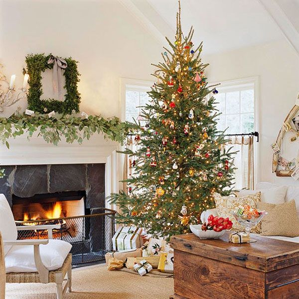 ... Forest Inspired Christmas Decorations Elegant Christmas Tree ...